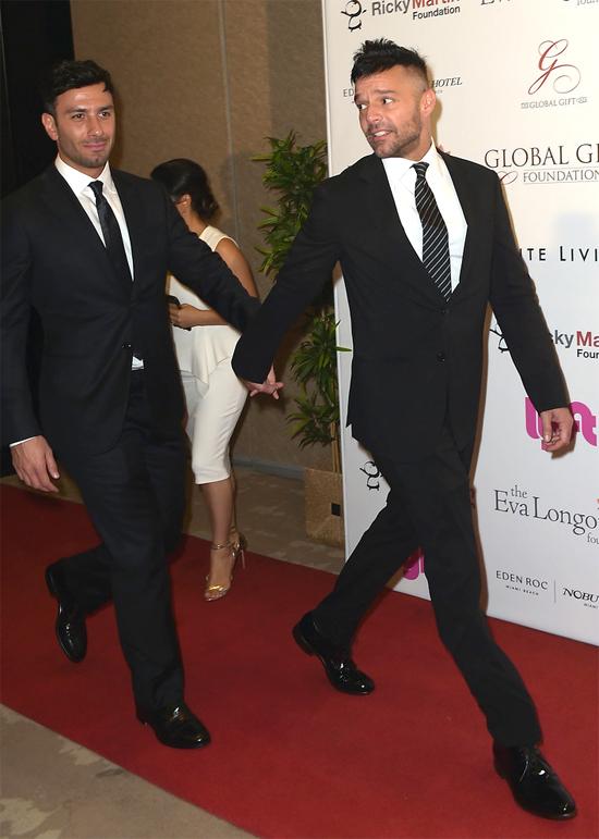 Ricky Martin và Jwan Yosef đã trở thành một cặp đôi hoàn hảo.