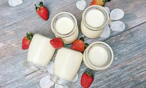 Công thức làm sữa chua úp ngược bất bại