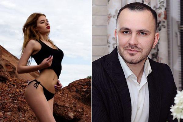 Dmitry và cô bồ nhí EmiliaIngnatova. Ảnh: The Siberian Times