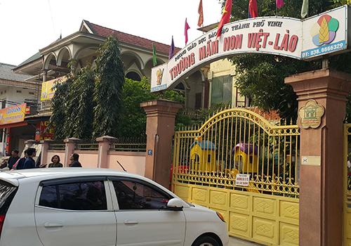 Trường học nơi xảy ra vụ việc. Ảnh: Nguyễn Hải.