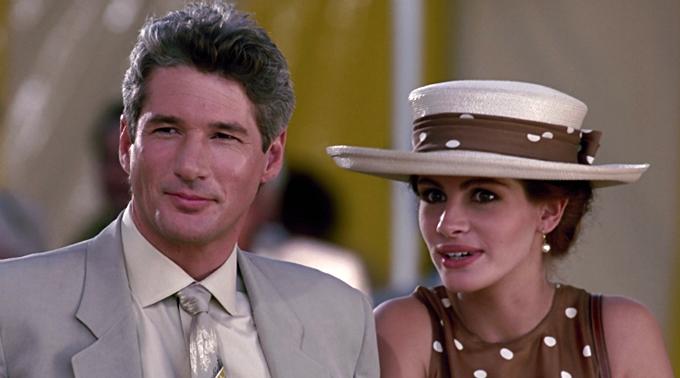 Tài tử Richard Gere cũng từng gây thương nhớ với vai diễn tỷ phú si tình trong bộ phim Người đàn bà đẹp đóng cùng Julia Roberts.