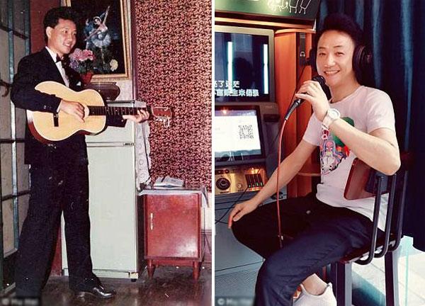 Người đàn ông 68 tuổigiữniềm đam mê ca hát từ thời trẻ cho đến tận bây giờ.