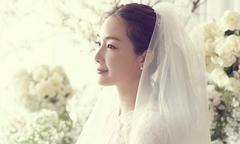 Ảnh cưới hiếm hoi của mỹ nhân 'Bản tình ca mùa đông' Choi Ji Woo