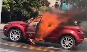 Chàng trai thất tình phóng hỏa chết cùng bạn gái trong ôtô