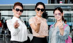 Lâm Khánh Chi tiễn Hoa hậu chuyển giới Brazil, Á hậu Thái Lan về nước
