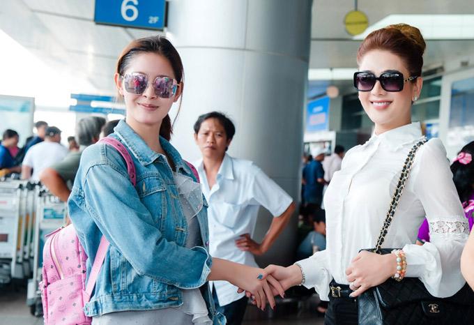 Lâm Khánh Chi hy vọng có cơ hội tái ngộ Á hậu Rock trong tương lai.