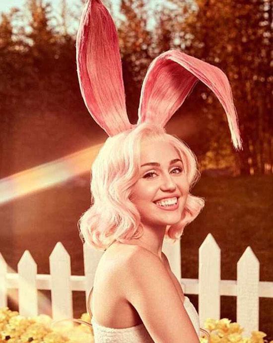 Miley Cyrus đón lễ Phục sinh với bộ ảnh sexy - 6