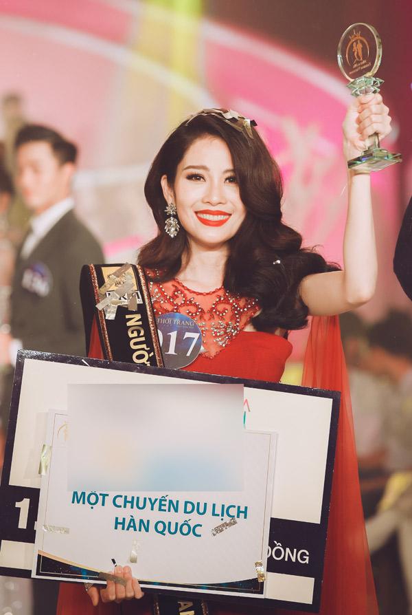 Nam Anh chia sẻ: Đây là bất ngờ lớn và rất có ý nghĩa với cuộc đời tôi. Ngôi vị quán quân Người mẫu thời trang Việt Nam là động lực để tôi vươn lên trong cuộc sống. Tôi sẽ nỗ lực để đáp lại tình cảm của những người đã yêu thương mình.