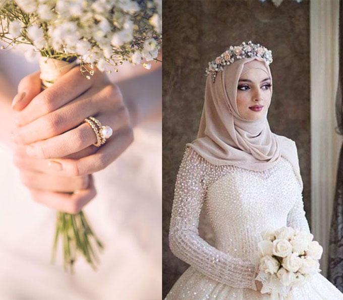 Nhẫn cưới ngọc trai, tổ chức tiệc trong nhà kính: Đây mới là mốt của 2018 - 4
