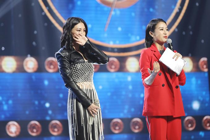 Bùi Lan Hương khóc vì không được đón nhận ở 'Sing my song'
