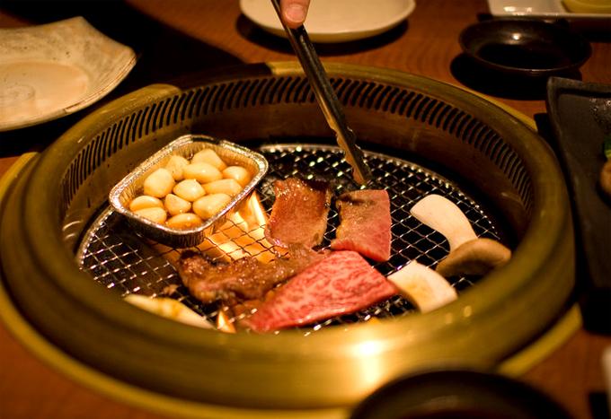 Hãy ăn một bữa thịt nướngkiểu Nhật Yakiniku.