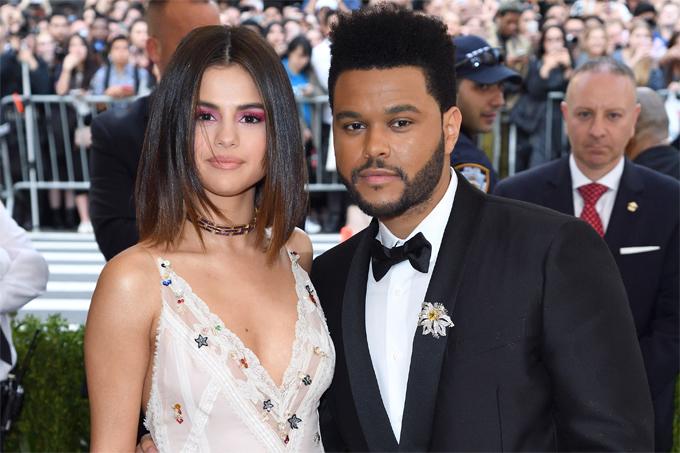 Selena và The Weeknd hẹn hò từ tháng 1 đến tháng 10/2017.