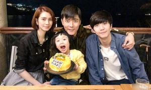 Trương Đan Phong yêu con riêng của vợ như con đẻ