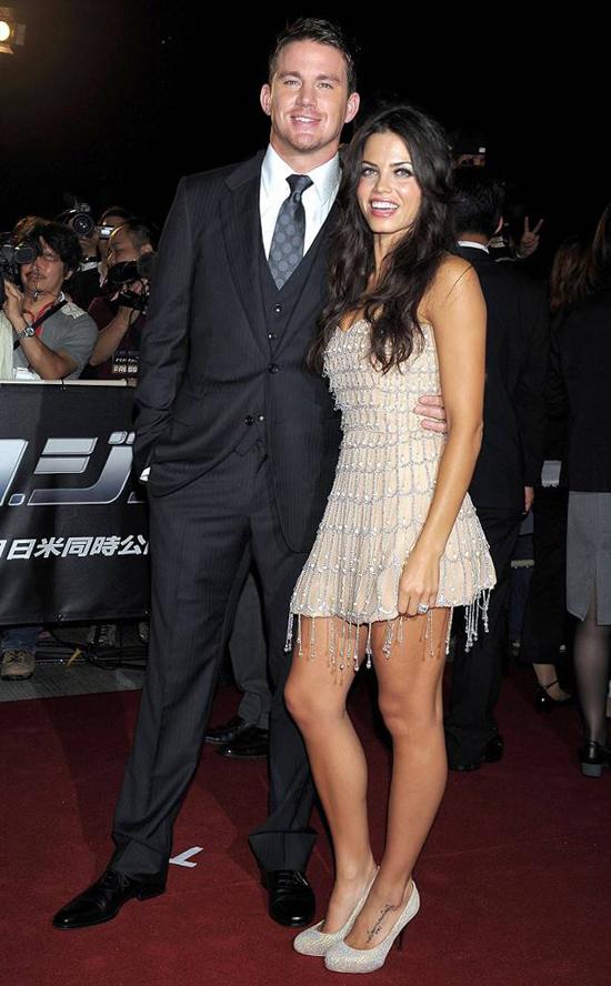 Sau tuần trăng mật ngọt ngào, chàng và nàng cùng nhau tới Nhật quảng bá cho bộ phim G.I. Joe: The Rise of Cobra của Channing Tatum.