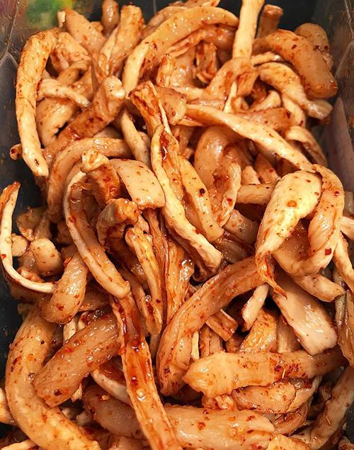 Củ cải muối giòn ngon hấp dẫn tín đồ ăn cay - 3