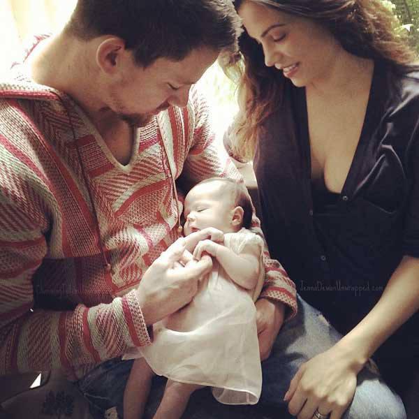 Tháng 6/2013, cặp sao chào đón công chúa nhỏ Everly tại London khi Channing đang quay phim tại đây.