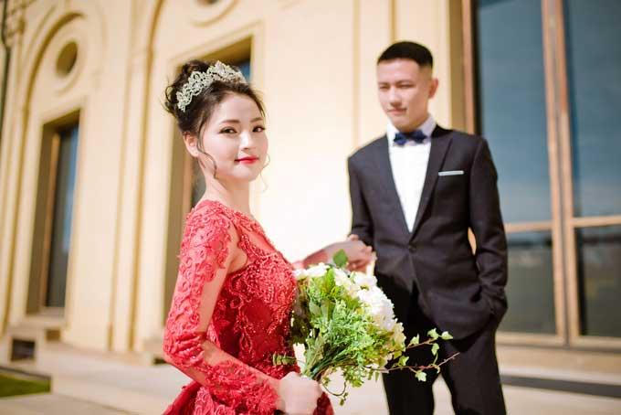 Linh Giang bảo cô yêu anh bởi sự chân thành và thật như đếm.