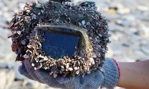Máy ảnh rơi xuống biển hơn 2 năm vẫn dùng tốt