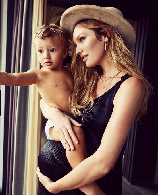 Candice tiết lộ, em bé thứ hai của cô cũng là một cậu con trai.