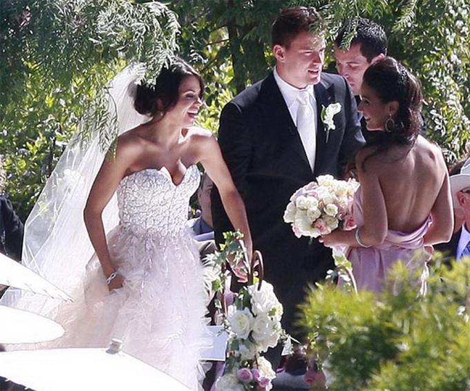 Ngày 11/7/2009, Channing và Jenna tổ chức đám cưới bí mật tại một trang trại nho ở Malibu, California.