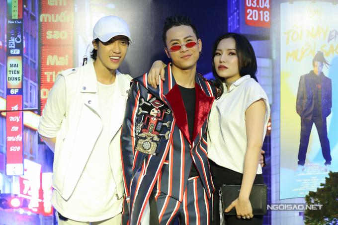 Hôm qua, Hiền Sến và Lý Phương Châu đến chúc mừng ca sĩ hải ngoại Mai Tiến Dũng ra mắt MV.