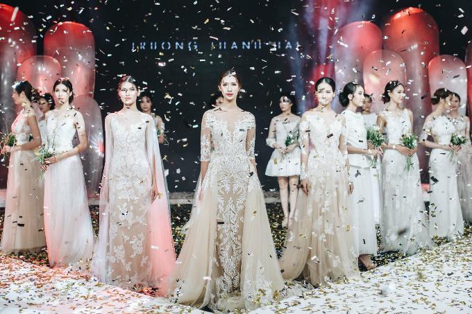 Các nhà thiết kế nổi tiếng tại TP HCM sẽ tham gia trình diễn bộ sưu tập áo cưới trong triển lãm. Ảnh: Truong Thanh Hai Bridal.