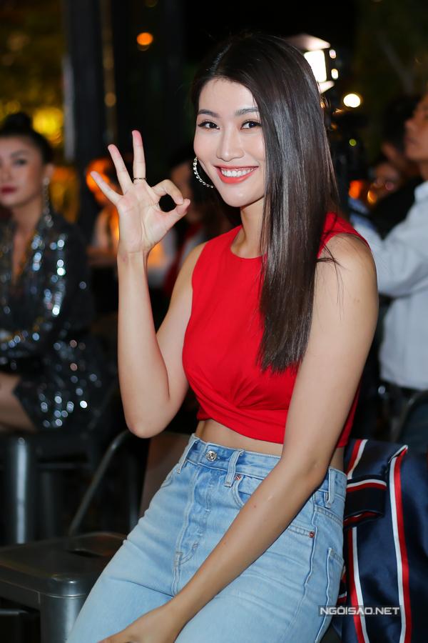 Người mẫu Quỳnh Châu.