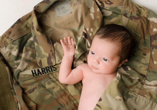 Brittany thích nhất bức ảnh này bởi tấm hình giống như người chồng quá cố của cô đang ôm con gái vào lòng. Ảnh:NPS Photography.