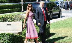 Melania Trump diện váy hơn 3.000 USD dự Lễ Phục sinh