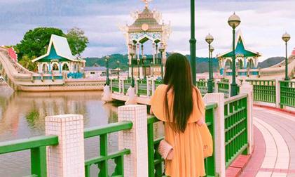 Cô gái Sài Gòn khám phá Brunei 'bình yên đến lạ' chỉ với 6 triệu đồng