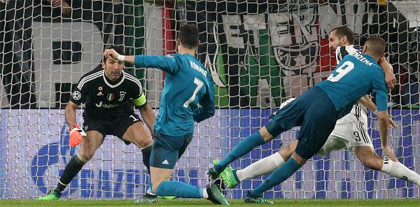 Trước đó, C. Ronaldo mở tỷ số cho Real ở ngay phút thứ 3.