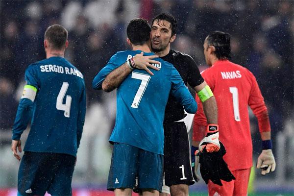 Trong chung kết Champions League mùa giải trước, siêu sao 33 tuổi cũng hai lần sút tung lưới Buffon giúp Real bảo vệ ngôi vương