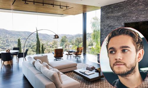 Ngôi nhà hiện đại với phòng khách rộng ngút mắt của bạn trai cũ Selena Gomez