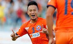 Siêu phẩm 'nã đại bác' của Võ Huy Toàn đẹp nhất vòng 4 V-League