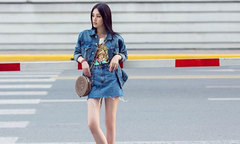 'Bắt chước' cách diện chân váy ngắn hợp mốt từ sao Việt