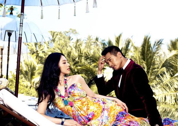 Vợ chồng Đổng Tuyền và Cao Vân Tường.
