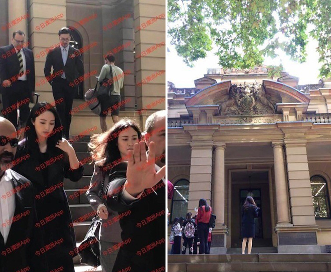 Đổng Tuyền sang Sydney dự phiên xử chồng tấn công tình dục