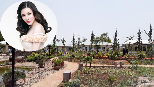 Một góc khu nghỉ dưỡng của ca sĩ Hồ Quỳnh Hương tại huyện Xuyên Mộc. Ảnh: Ngọc Nguyễn.