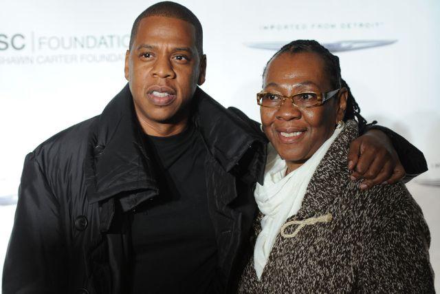 Jay Z và mẹ.