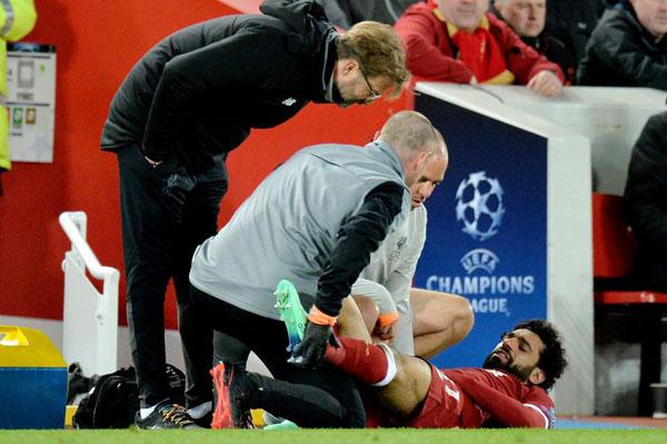 Tuy nhiên ở trận lượt về, The Kop nhiều khả năng thiếu vắng Salah vì chấn thương.