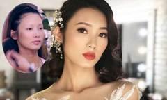 Cô dâu thay đổi 180 độ với phong cách trang điểm retro