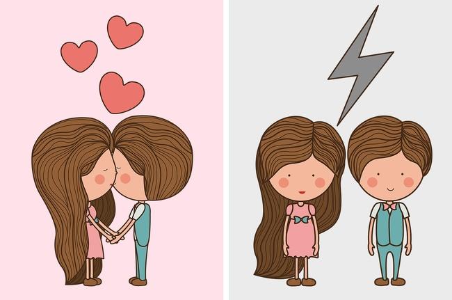 Tỷ lệ đôi hạnh phúc.John Gottman, chuyên gia có tiếngvề mối quan hệ, tiến hànhnghiên cứu về thói quen của các đôi uyên ương, nhằm tìm hiểu sự khác biệt giữa đôi hạnh phúc và không hạnh phúc. Cuộc thử nghiệm rất đơn giản khi các đôi được yêu cầu giải quyết một cuộc cãi xã, xung đột trong 15 phút.Kết quả cho thấy, những đôi hạnh phúc có cái gọi là tỷ lệ ma lực, yếu tố cần thiết để tình yêu bền vững. Một mối quan hệ bền vững nếu hai người có 5 sự tác động qua lại mang tính tích cực với bất kỳ tác động tiêu cực nào trong suốtcuộc cãi vã.Khoảnh khắc tiêu cực trong những cuộc xung đột bao gồm chỉ trích, phòng thủ. Những cặp hạnh phúc sẽ bắt đầu cuộc xung đột nhẹ nhàng hơn và họ cố gắng duy trì sự gần gũi,tích cực trong suốt thời gian có tranh cãi.