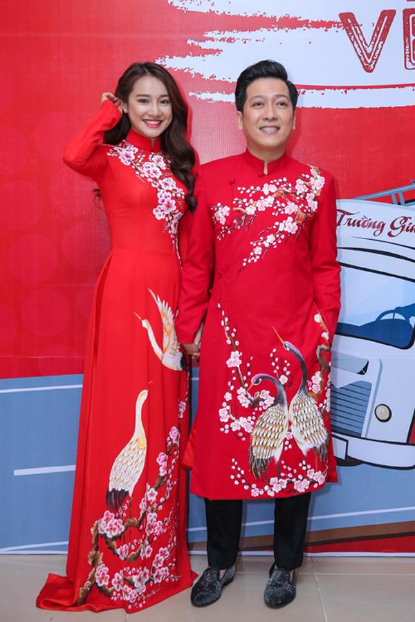Tháng 11/2016, Nhã Phương và Trường Giang mặc áo dài đôi, cùng xuất hiện tại liveshow của nam danh hài.Nữ diễn viên là khách mời đặc biệt trong liveshow của bạn trai. Cả hai có nhiều khoảnh khắc tình tứ cả ở hậu trường lẫn trên sân khấu. Thời điểm đó, tin đồn cặp đôi chuẩn bị làm đám cưới. Tuy nhiên, cả hai đều im lặng.
