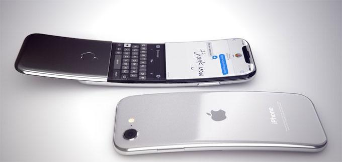 Theo Bloomberg, Apple đang nghiên cứu iPhone có màn hình cong từ trên xuống dưới. Từ thông tin này, các nhà thiết kế Martin Hajek đã đưa ra một concept về sản phẩm tương lai.