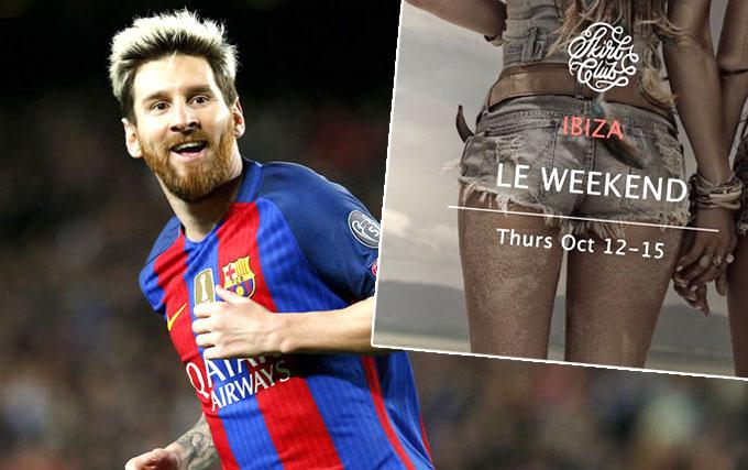 Poster quảng bá cho sự kiện của nhóm Skirt Club. Ảnh: NN.