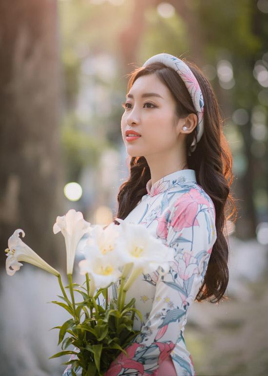 Đỗ Mỹ Linh làm nàng thơ của Ngọc Hân trong bộ sưu tập áo dài - 1