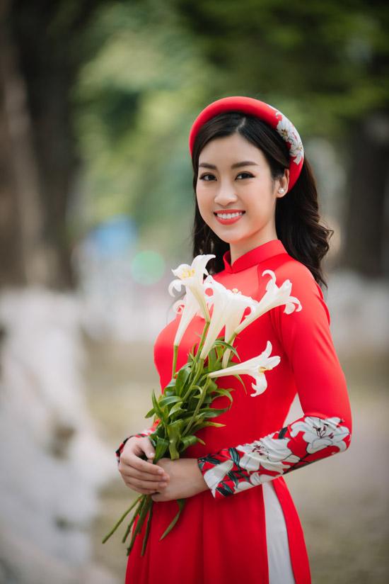 Đỗ Mỹ Linh làm nàng thơ của Ngọc Hân trong bộ sưu tập áo dài - 2