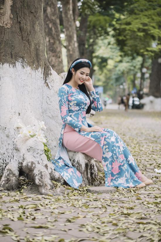 Đỗ Mỹ Linh làm nàng thơ của Ngọc Hân trong bộ sưu tập áo dài - 7