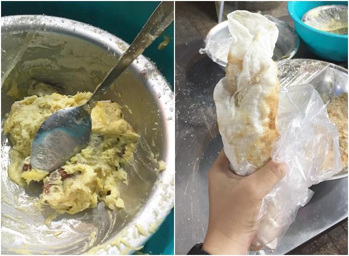 Xôi sầu riêng cốt dừa vừa thơm vừa béo