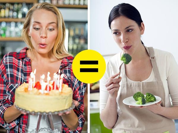 Giữ tinh thần vui vẻ Khi tâm trạng vui vẻ, thoải mái, bạn sẽ ăn ngon miệng và tiêu hoá thức ăn dễ dàng hơn. Nếu tâm trạng tồi tệ, bạn có thể liên tục thấy thèm ăn, đặc biệt là các món giàu tinh bột và đường.